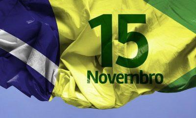 Feriado 15 Novembro