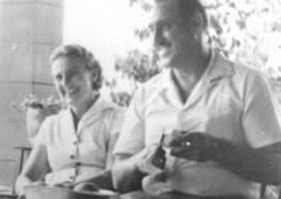 D. Maria e Sr. Fonda no Brasil