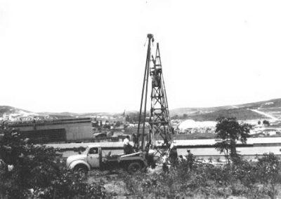 1954 - Sr. Fonda na montagem na Mannesman