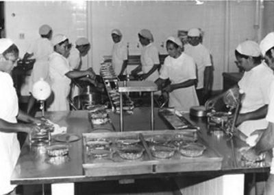 1960 - Restaurante e cozinha Mannesman