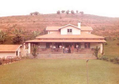 1968 - Casa sede da fazenda Palmipal hoje Fonda Hotel Fazenda