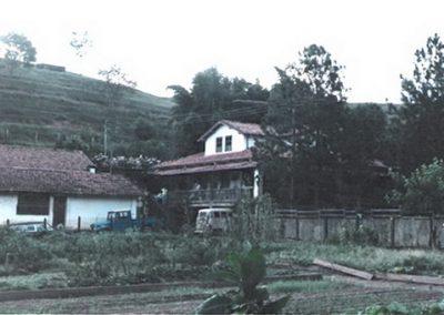 1986 - Foto da fazenda antes de ser hotel