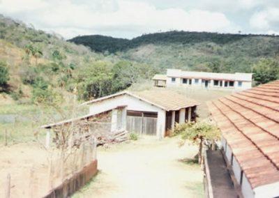 1986 - Vista da antiga carpintaria, hoje Salão da Logoa